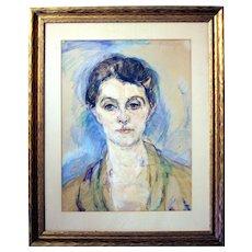 Arthur Rudolph (German, 1885-1959): Three Portraits 1932