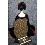 Kiyoshi Saito (Japanese, 1907-1997): Maiko, 1960. Sosaku Hanga Woodblock Print
