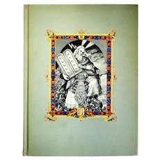Arthur Szyk Illustrated & Signed: The Ten Commandments. 1947 Edition 14/1000