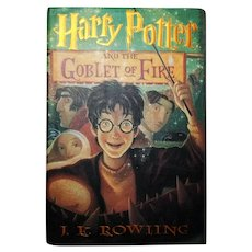 Rowling, J.K.: Harry Potter and the Goblet of Fire. 07.08.2000 First Edition, First Printing