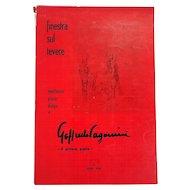 Goffredo Paganini: Finestra sul Tevere: Meditazioni, Poesie, Disegni. 1965 Signed by Author