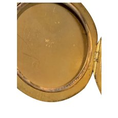 Edwardian era gold filled locket.