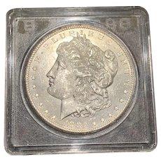1882-CC Carson City Mint Morgan Silver Dollar CHOICE BU+ Nice Luster