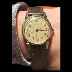1950 Hamilton 748 Gold Filled 18 Jewel Strap Wrist Watch    1950s Gold filled Hamilton 748 watch.