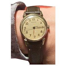 1950 Hamilton 748 Gold Filled 18 Jewel Strap Wrist Watch    1950s Gold filled Hamilton 748 watch.
