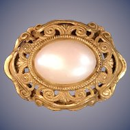 A classic Miriam Haskell faux pearl pin