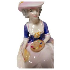 "Royal Doulton Figurine ""Kathleen"" Michael Doulton Exclusive Signed"