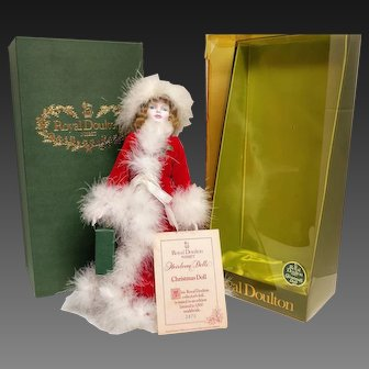 Royal Doulton and Nisbet Limited Edition Christmas Doll