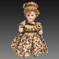 Kestner All Bisque Child Doll Model 130
