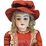 """Simon & Halbig Bisque Head With Articulate Composition Body 1079 23"""" Doll"""