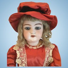 "Simon & Halbig Bisque Head With Articulate Composition Body 1079 23"" Doll"