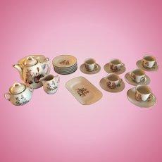 Post 1891 German Porcelain Child's Tea Set 293