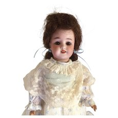"Carl Hartmann Globe Baby 12"" Bisque Head Composition & Wood Doll 1898-1925"