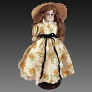 "Armand Marseille Florodora 13"" Shoulder Head Kid Body Doll c1894"