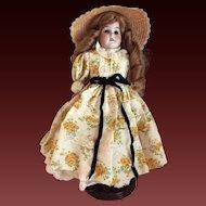 "Armand Marseille Florodora 13"" Shoulder Head Kid Body Doll c1894"