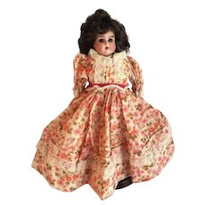 """German Bisque Shoulder Head """"Ruth"""" Doll With Kid Body"""