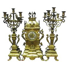 Renaissance Revival Mantel Clock