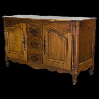 Walnut Louis XV Style Enfilade