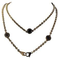 Bulgari 18k Gold Necklace 95 grams Bag Limited Edition