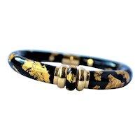 Soho 18k Gold Enamel Bracelet 27.9 grams