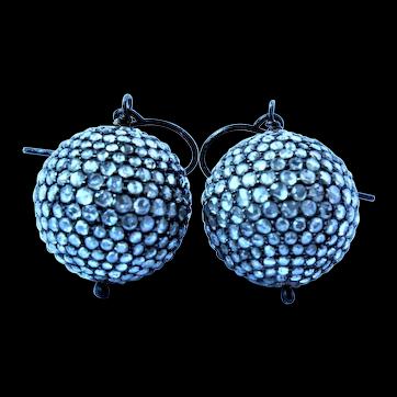 3.44 cttw Rose cut Diamond Earrings