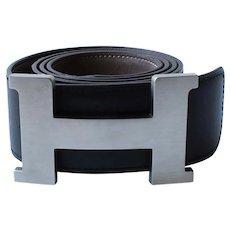 Black Hermes 40mm Belt
