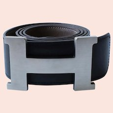 Black Hermes 40mm Belt