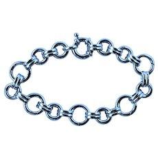 Aaron Basha 18k Charm Bracelet Large
