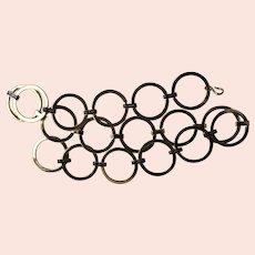 Vintage St. John chain link belt