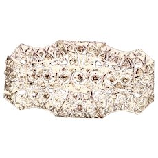 Edwardian Platinum and Diamond Brooch c 1915 - for the 2018 Bride
