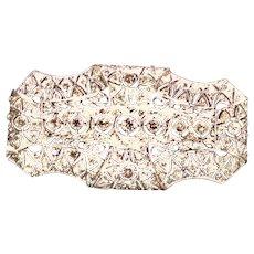1915 Edwardian Platinum Diamond Brooch
