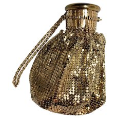 Vintage Classic: Whiting and Davis Mesh Gate Top Purse - Art Deco