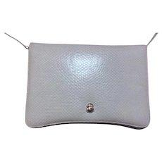 Vintage SKY BLUE Judith Leiber Clutch and Shoulder Bag
