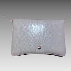 Vintage LIGHT BLUE Judith Leiber Clutch and Shoulder Bag