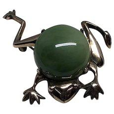 Vintage Sterling Jelly Belly Frog