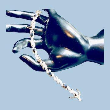 Natural Sapphire 14K Vermeil Bracelet