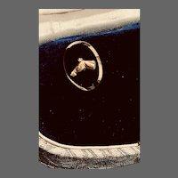Horse Head Stud Pierced Earrings