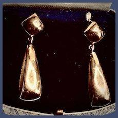 Fabulous 18K Yellow Gold Drop Earrings
