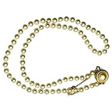 Faux Pearl 18-inch Necklace