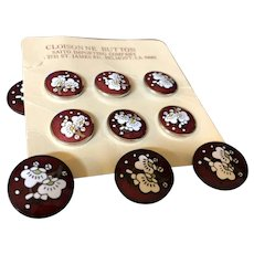 Held for M:Cloisonne Buttons