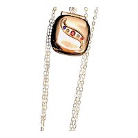 Victorian Rose Gold Filled Locket Necklace