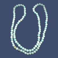 Antique Chinese Turquoise Bead Necklace