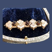 Victorian GF Bar Brooch