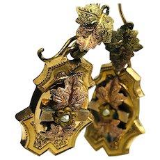 VIctorian Goldfilled Earrings