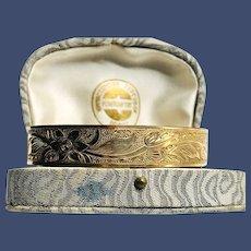 Victorian Rolled Gold Adjustable Bracelet