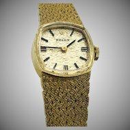 Rolex 14K Ladies Cocktail Watch