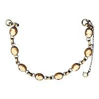 1920s 12K Gold-filled Cameo Bracelet