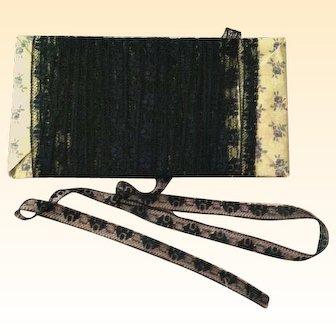 Vintage Lace Trim ~ Narrow Black