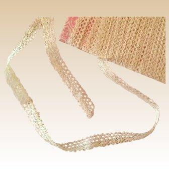 """Vintage Lace Trim ~ Pretty Ecru ~ 1/2"""""""