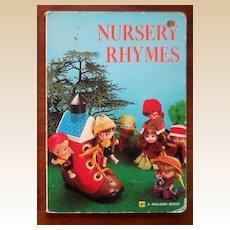 """1960s Liddle Kiddle Golden Board Book """"Nursery Rhymes"""""""